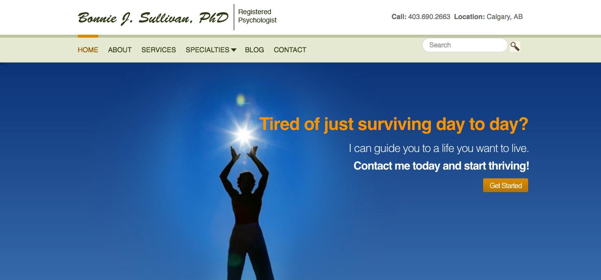 Bonnie J Sullivan Homepage