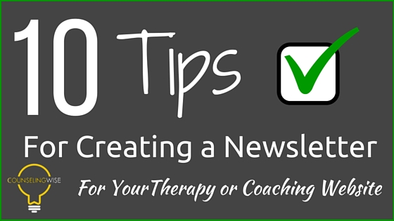 newsletters-for-therapists