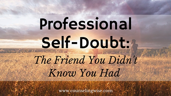 Professional Self-Doubt-